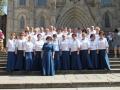 Po koncercie w Katedrze p.w.Sw. Eulalii w Barcelonie