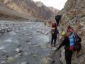 powrót korytem rzeki