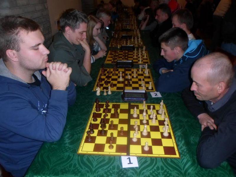 55 szachistów rywalizowało w memoriale Józefa Gromka