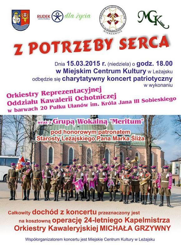 Koncert charytatywny w leżajskim MCK