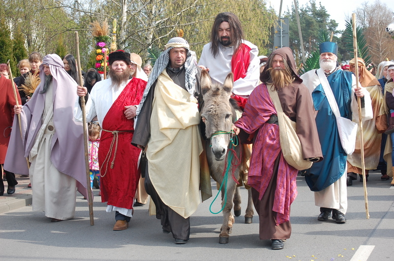 Z Chrystusem podążaj do Jerozolimy
