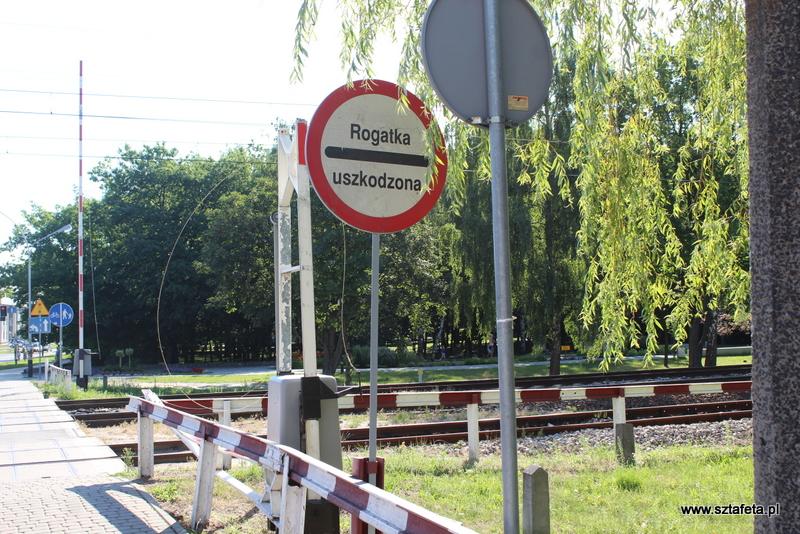 Kolizja na przejeździe kolejowym