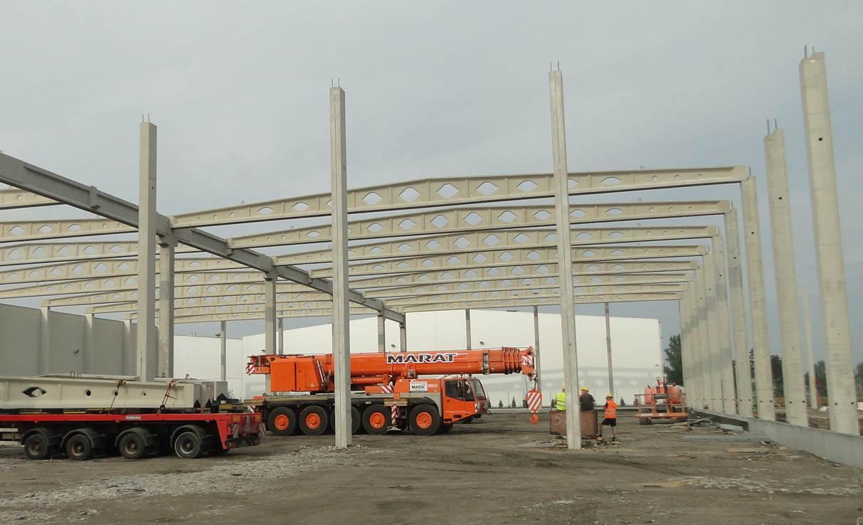 Budowa nowego zakładu produkcyjnego w Stalowej Woli