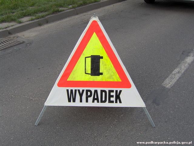Nocny wypadek w Stalowej Woli