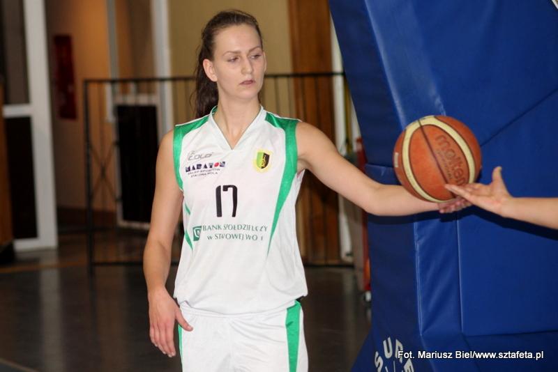 II liga koszykówki kobiet: Stal Stalowa Wola - Olimpia Wodzisław Śl. 48:73