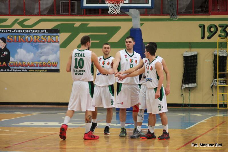 II liga koszykówki: Stal Stalowa Wola - Księżak Łowicz 56:58
