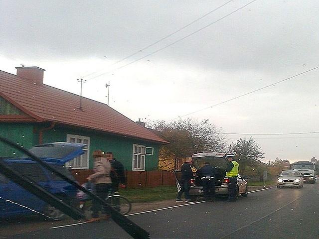 Wypadek w Woli Rzeczyckiej