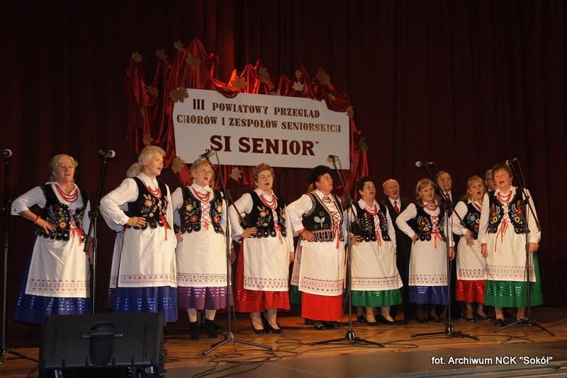 """Seniorzy zaprezentowali się w """"Sokole"""""""