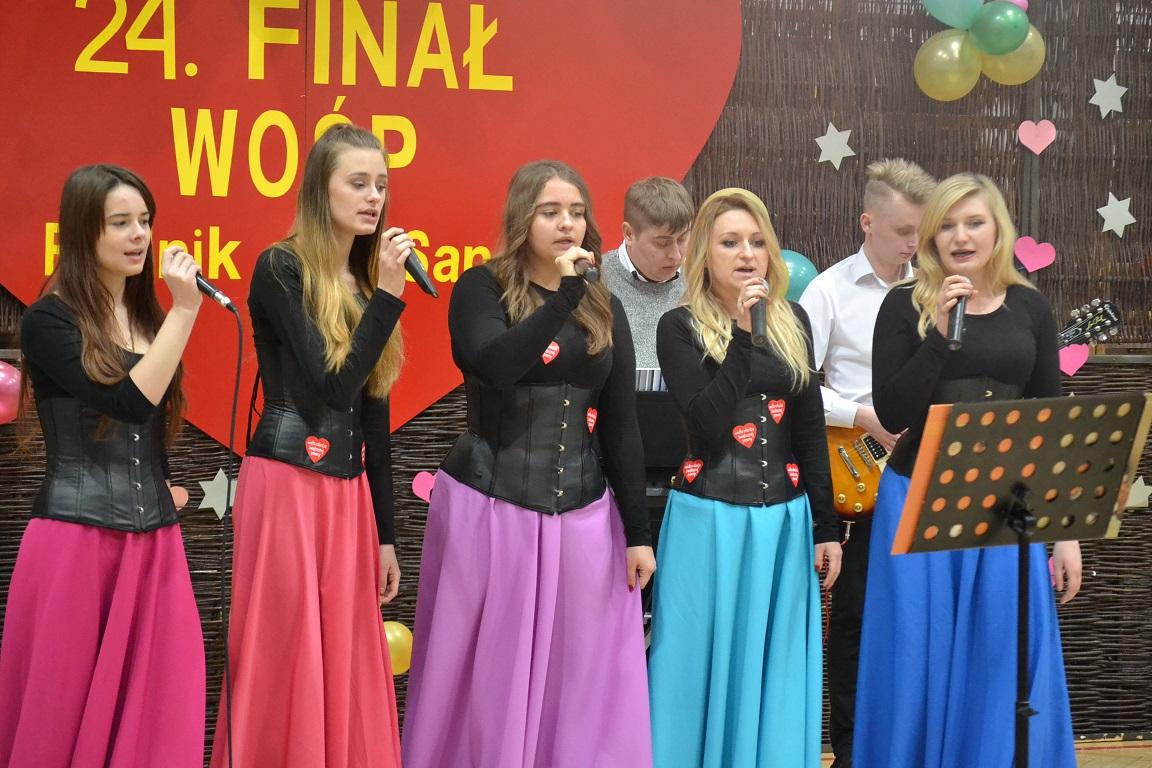 W Rudniku zagrała orkiestra czerwonych serc