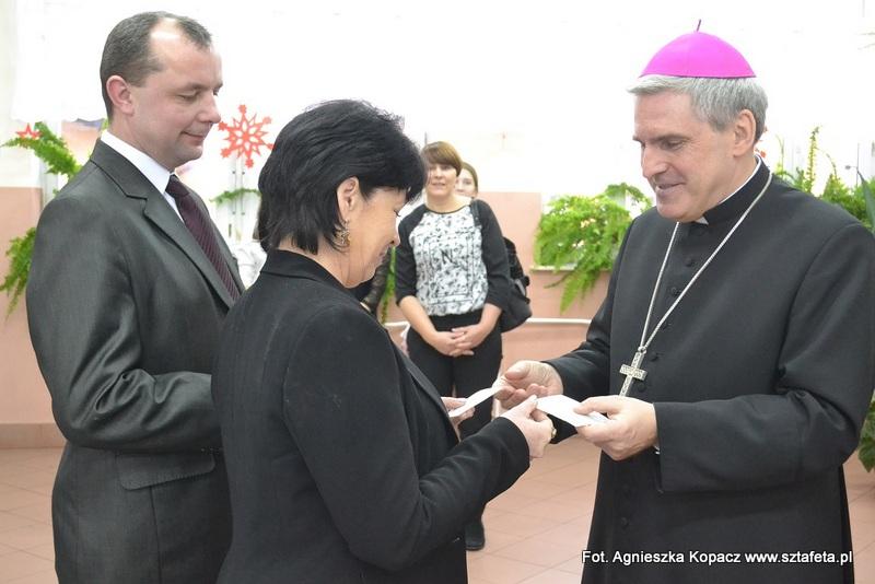 Ulanowski opłatek z biskupem
