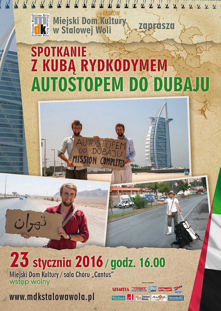 Autostopem do Dubaju  – spotkanie z Kubą Rydkodymem
