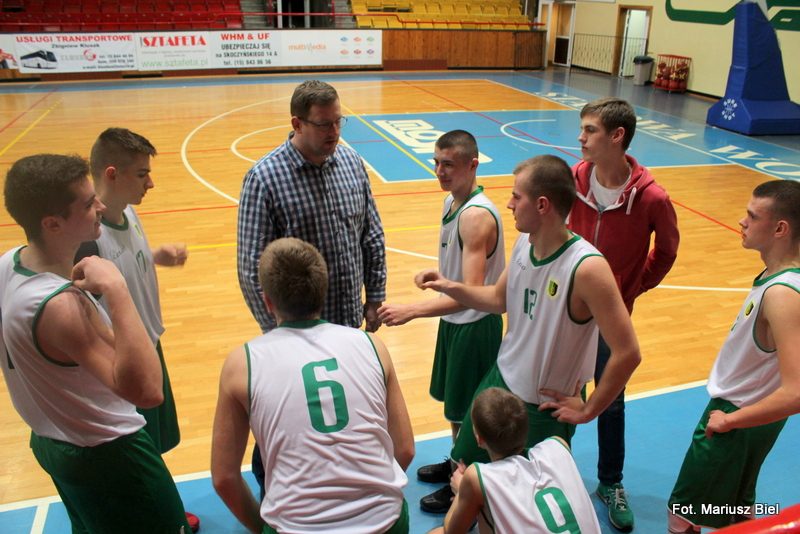 Koszykówka U 20: Stal Stalowa Wola - Pogoń Puławy 113:51