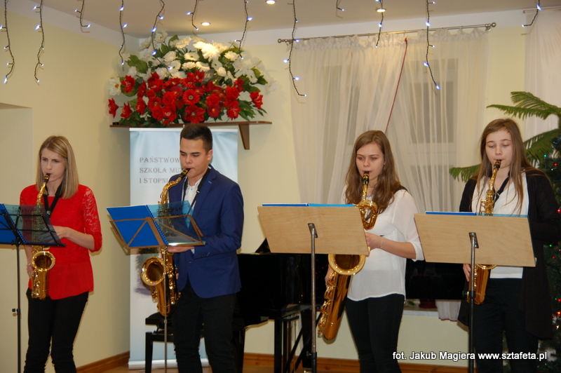Karnawałowy koncert w szkole muzycznej
