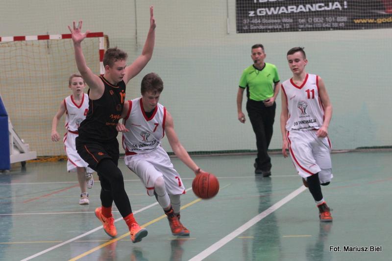 Koszykówka, liga młodzików: Kuźnia Koszykówki Stalowa Wola - Kadet Biała Podlaska 53:61