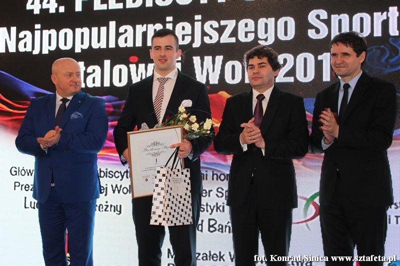 Bartłomiej Stój zwycięzcą 44. plebiscytu Sztafety na Najpopularniejszego Sportowca Stalowej Woli