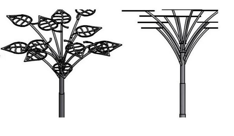 Drzewko solarne dla Stalowej Woli