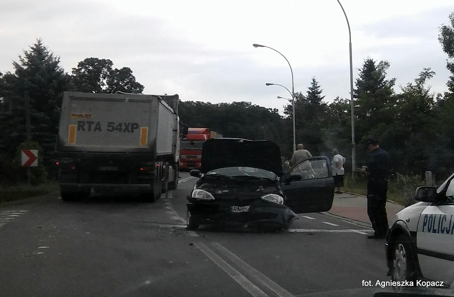 Groźny wypadek w Rudniku nad Sanem