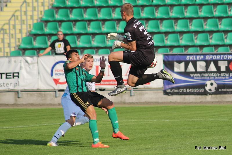 II liga: Stal Stalowa Wola - Błękitni Stargard 2:2 (2:0)