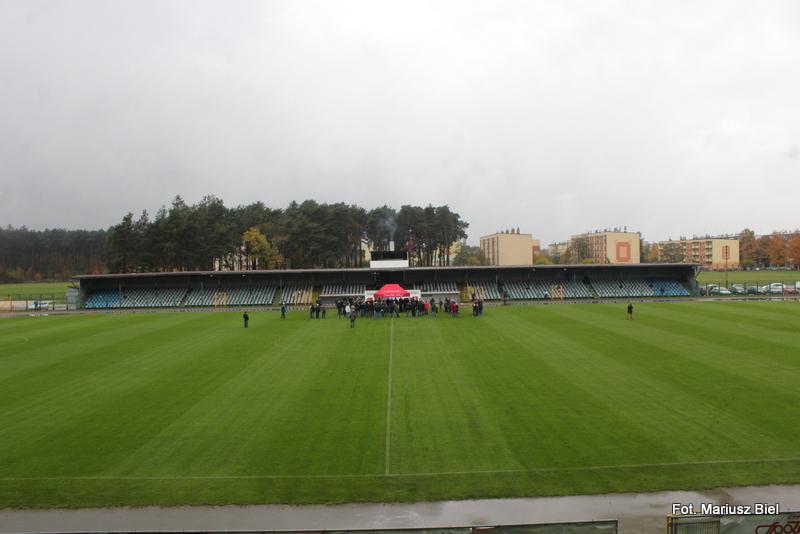Podpisanie umowy na powstanie w Stalowej Woli Podkarpackiego Centrum Piłki Nożnej
