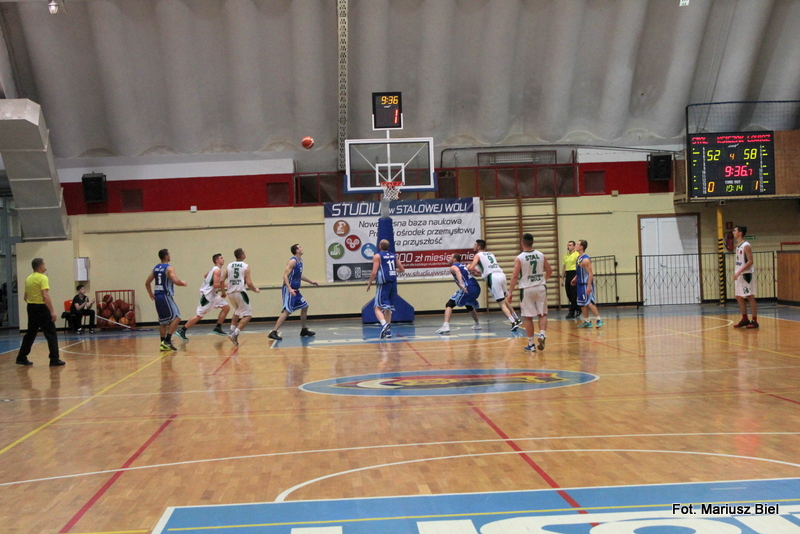 II liga koszykówki. Stal Stalowa Wola - Księżak Syntex Łowicz 65:84