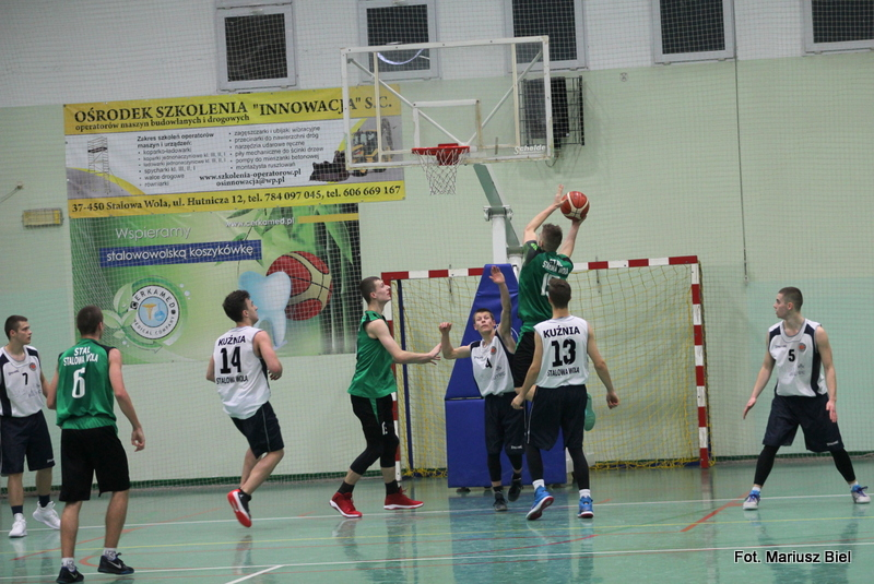 Koszykówka - juniorzy starsi U-20. Kuźnia Koszykówki - Stal 60:74