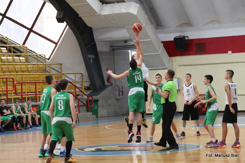 Koszykówka kadeci: Stal Stalowa Wola - PWSTE Jarosław 68:63
