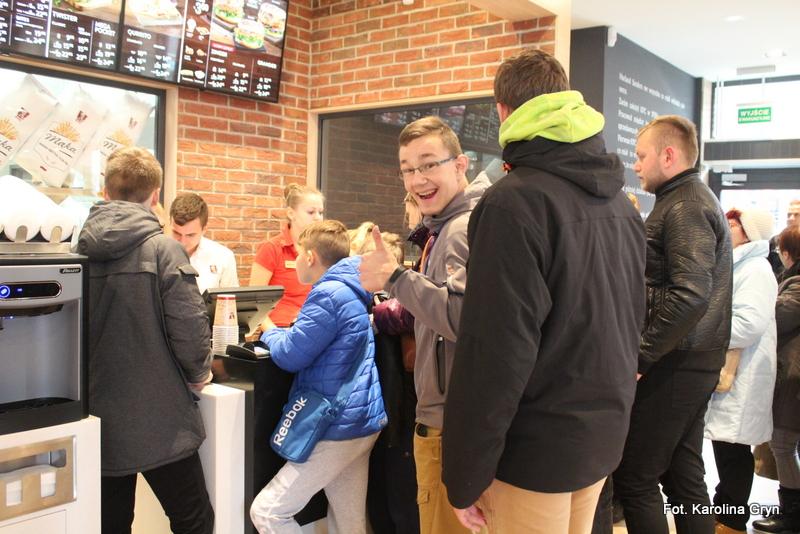 Wielkie otwarcie KFC w Stalowej Woli
