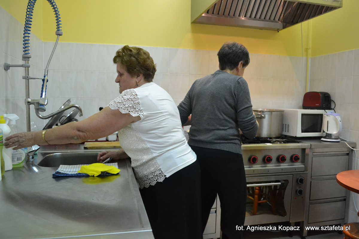 Mają nowoczesną kuchnię w domu kultury w Wolinie