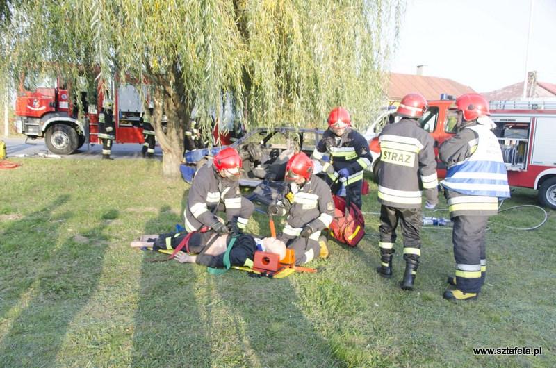 Pożar w rudnickim SOSW