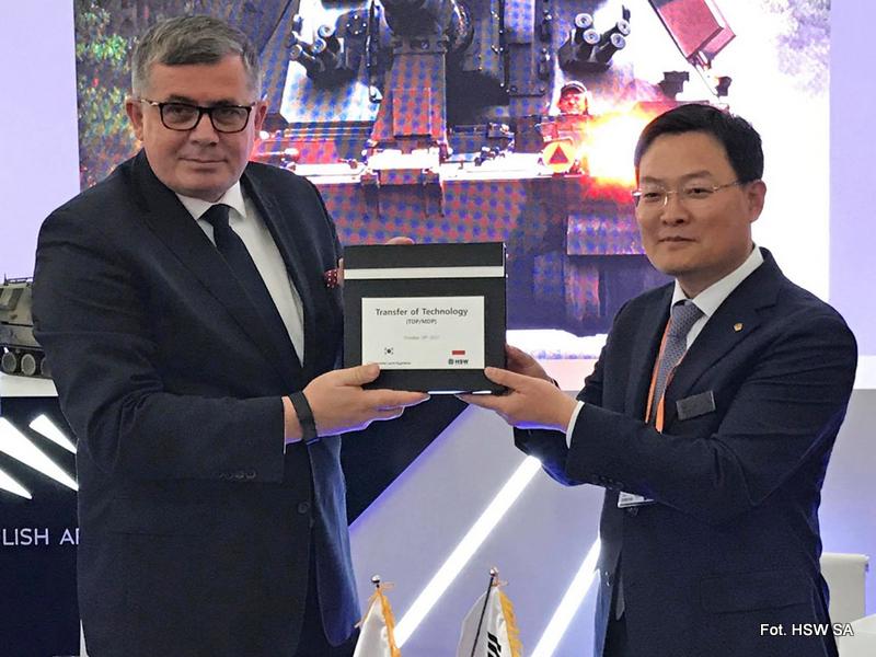 HSW rozpoczęła transfer koreańskiej technologii