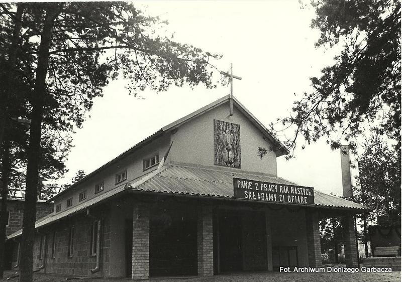 Kościół w dzielnicy robotniczej