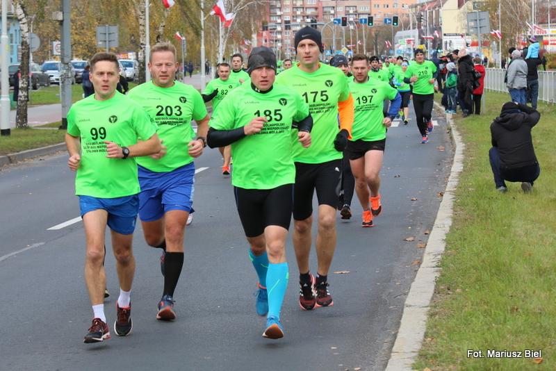 25. Ogólnopolski Uliczny Bieg Niepodległości - bieg główny 5 km