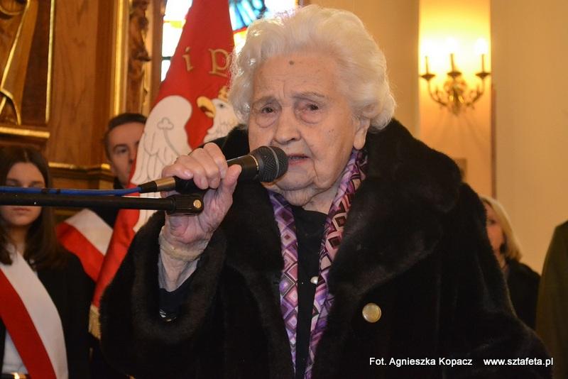 W Ulanowie z Marią Mirecką-Loryś o niepodległości