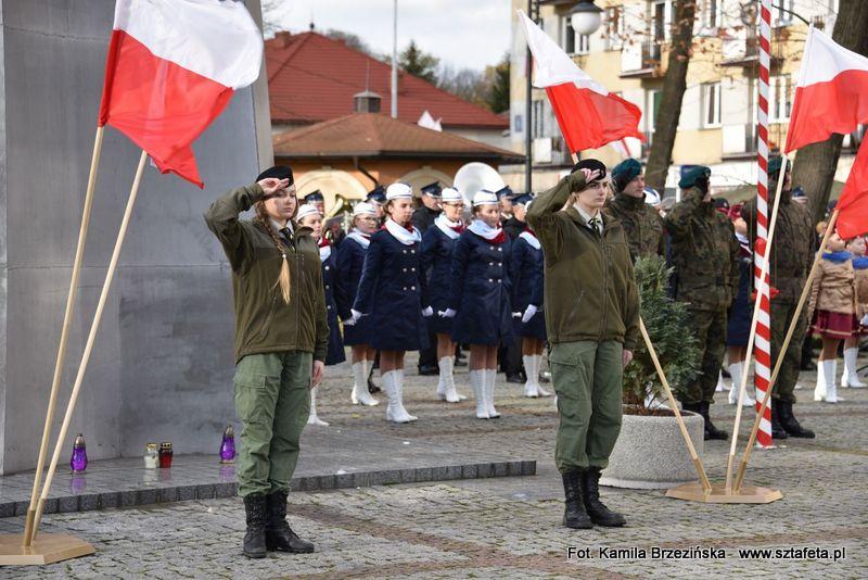 W Nisku świętowano 99. rocznicę odzyskania niepodległości