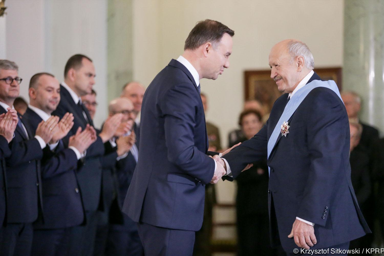 Order Orła Białego dla Andrzeja Pityńskiego