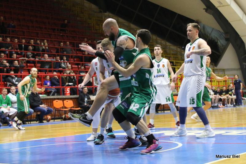 II liga koszykówki. Stal Stalowa Wola - Żubry Białystok 75:68