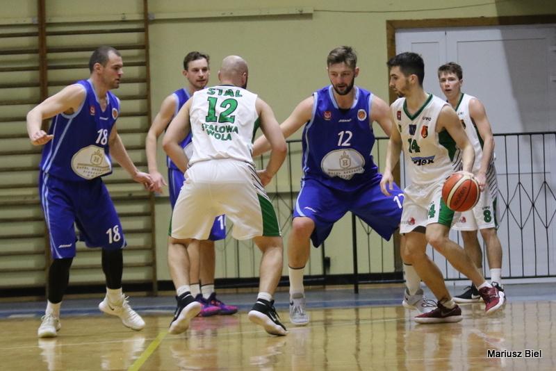 II liga koszykówki. Stal Stalowa Wola - Księżak Syntex Łowicz 71:97