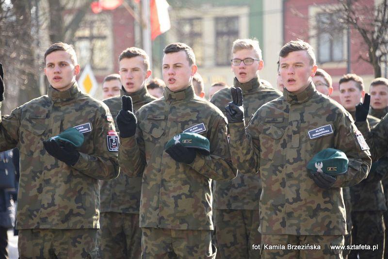 W sercu Niska złożyli uroczystą przysięgę i powitali nowego dowódcę terytorialsów