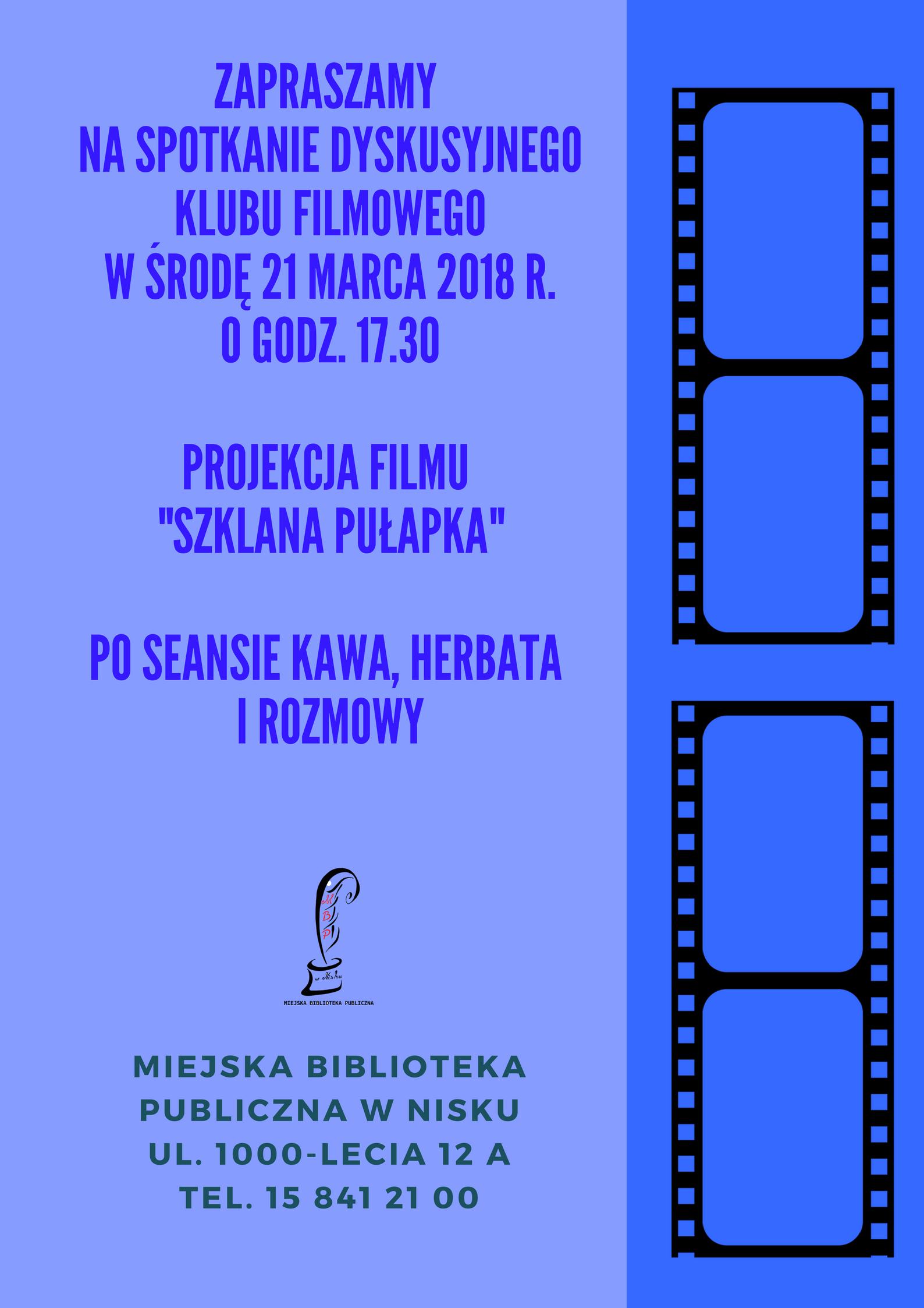 Filmowe dyskusje w niżańskiej bibliotece
