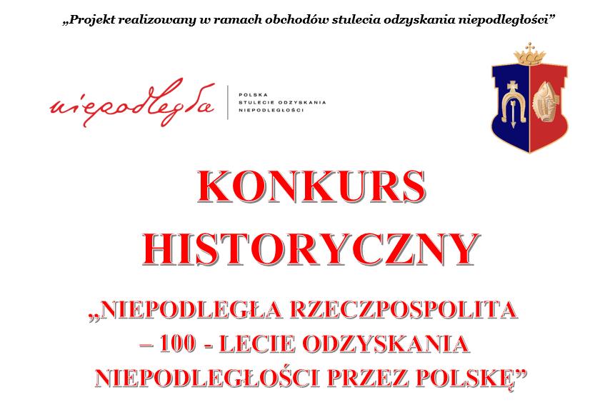 Uczniowie z Rudnika zmierzą się w konkursie historycznym