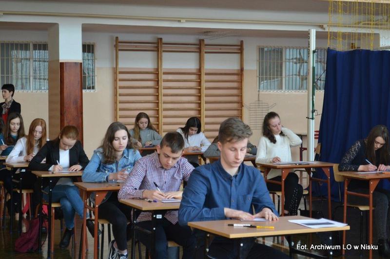 W Nisku odbył się konkurs językowy dla gimnazjalistów