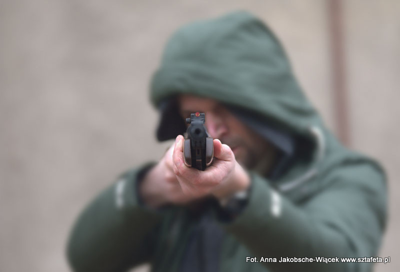 Prowizorka na szkolnej strzelnicy
