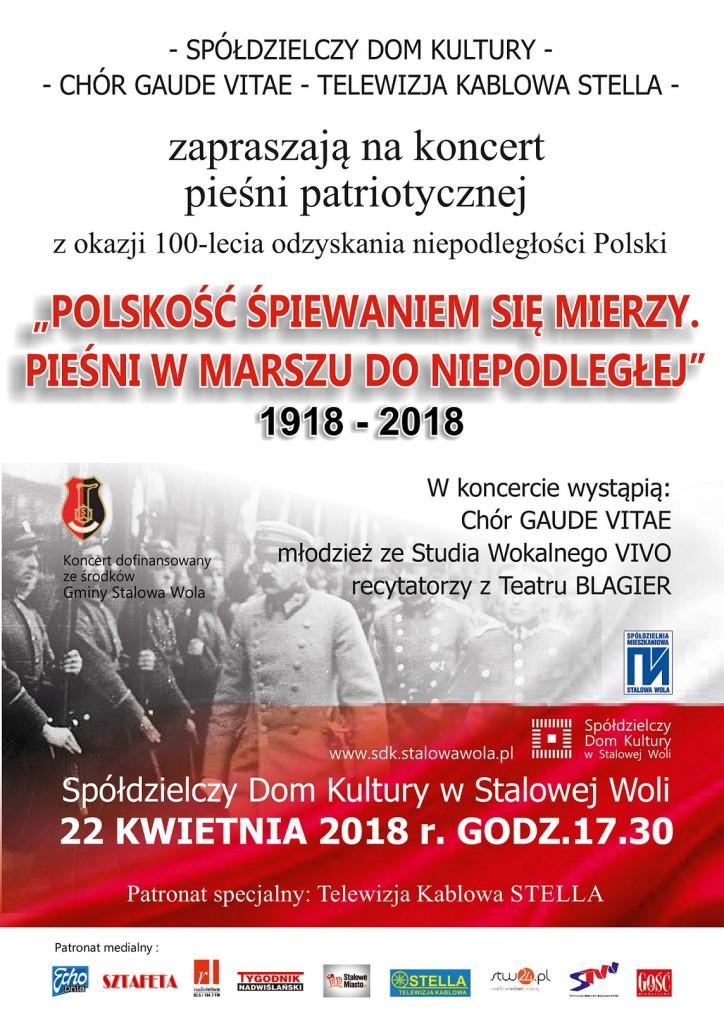 Koncert pieśni patriotycznej w SDK