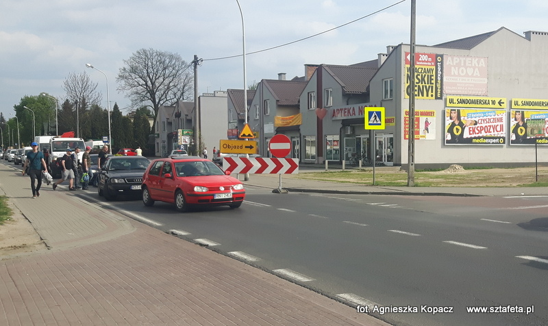Uwaga! Ulica Sandomierska w Nisku zamknięta już od Tesco