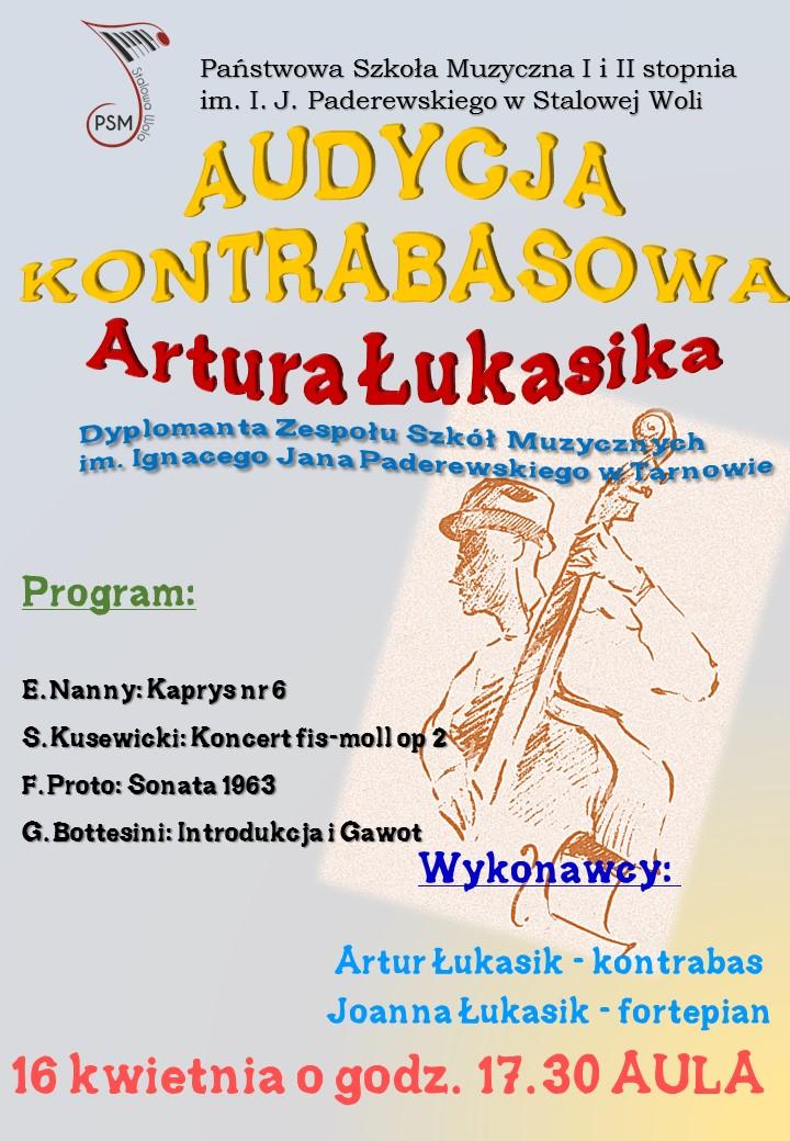 Audycja Kontrabasowa Artura Łukasiaka