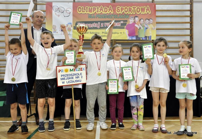 Przedszkolaki wystartowały w olimpiadzie