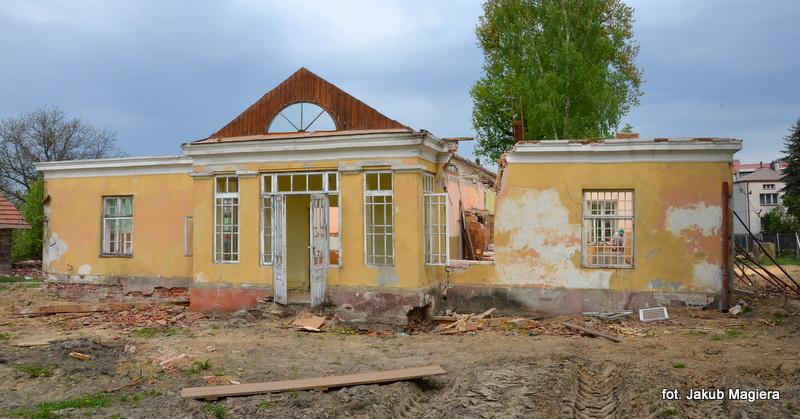 Dworek na Sandomierskiej zyskuje nową szatę