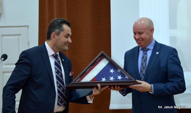 Wizyta polsko-amerykańskiej delegacji