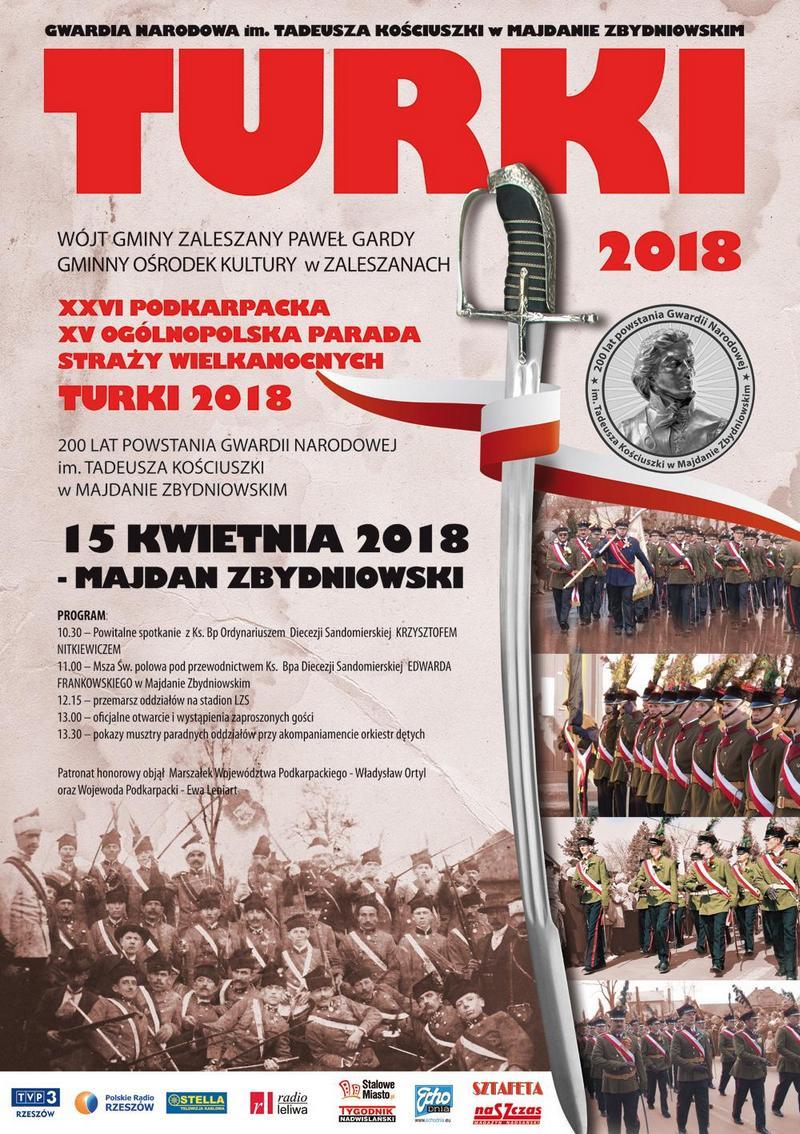 """Wielka parada """"Turków"""" w Majdanie Zbydniowskim"""