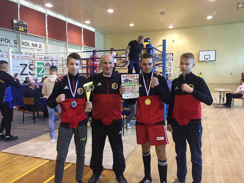 Beniamin Zarzeczny najlepszym kadetem turnieju Pucharu Karpat